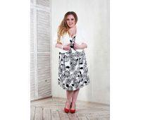 Сарафаны больших размеров для женщин платье сарафан в пол для полных