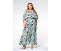 Пляжные платья больших размеров для полных женщин длинные платья в цветок для полных