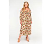Полуприлегающие платья больших размеров для полных женщин платье на выпускной миди для полных
