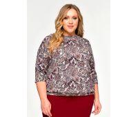 Летние блузки больших размеров для полных женщин блузка с коротким рукавом для полных