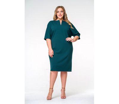 зеленое платье на полную фигуру
