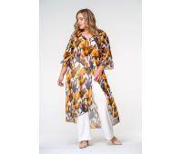 Одежда больших размеров для женщин туника для полных женщин на лето