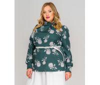 Летние блузки больших размеров для полных женщин блузки с длинным рукавом больших размеров