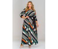 Платья по составу ткани 67% полиэстер, 30 % вискоза, 3% эластан больших размеров для полных женщин платье для полных женщин длинные прямые