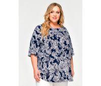 Платья летние туники больших размеров летняя туника женские больших размеров принт