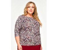 Блузки больших размеров для женщин блузка с коротким рукавом для полных женщин