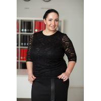 нарядные блузки больших размеров для женщин