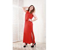 Длинное легкое платье из вискозы