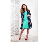 Куртки больших размеров для полных женщин пальто летнее из хлопка больших размеров