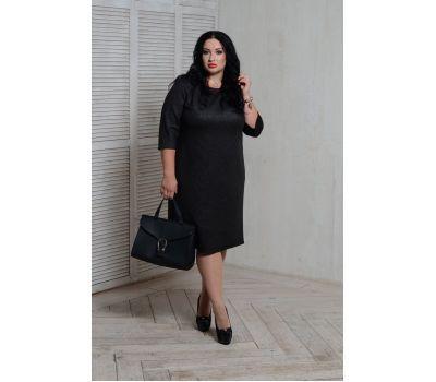 коктейльные черные платья для полных женщин