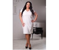 Платья по составу ткани больших размеров для полных женщин большое  свадебное платье