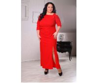 красное свадебное платье большого размера