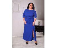 Платья с рукавом 3/4 больших размеров для полных женщин вечерние платья больших размеров для женщин стильные