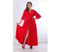 Красные платья больших размеров для полных женщин красное свадебное платье для полных женщин