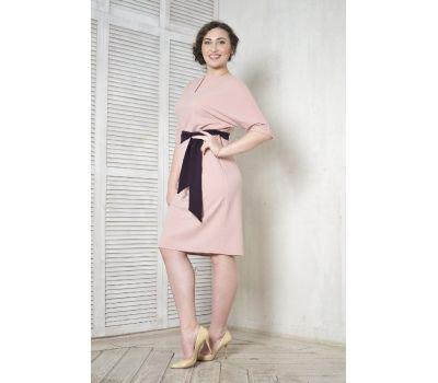 вечерние розовые платья для полных