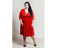 Платья по составу ткани больших размеров для полных женщин красное платье в пол для полных