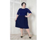 Платья по случаю больших размеров для полных женщин коктейльное платье трапеция для полных