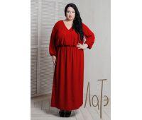 платье футляр красное для полных женщин