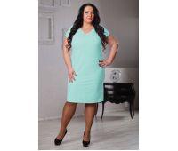 Платья по составу ткани больших размеров для полных женщин бирюзовое платье на полную фигуру