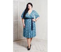 Платья по составу ткани больших размеров для полных женщин вечернее бирюзовое платье для полных