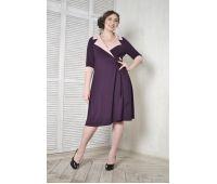 Платья по составу ткани больших размеров для полных женщин вечернее бордовое платье для полных