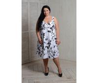 Платья по составу ткани больших размеров для полных женщин белое платье сарафан для полных